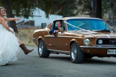 Callum and DEb mustang - Copy (2)